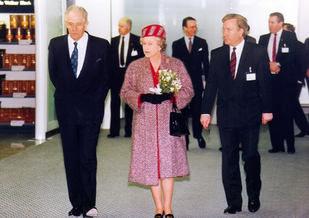 25th Anniversary of Queen opening new terminal Stansted Airport